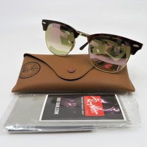 Ray-Ban Clubmaster RB 3016 990/70  Gold & Havana